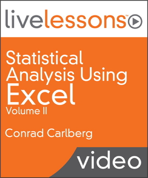 Statistical Analysis Using Excel LiveLessons (Video Training