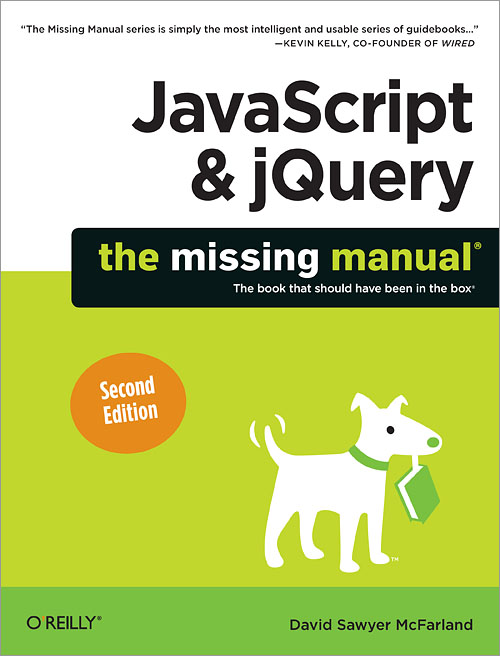 JavaScript & jQuery: The Missing Manual, 2nd Edition - O