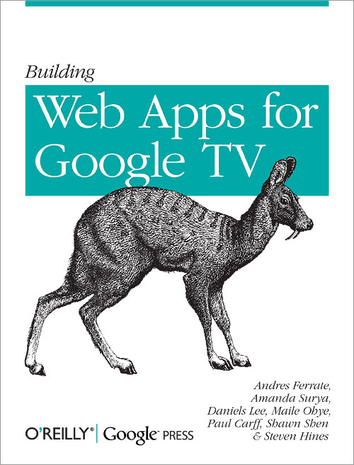 BUILDING WEB APPS FOR GOOGLE TV EBOOK