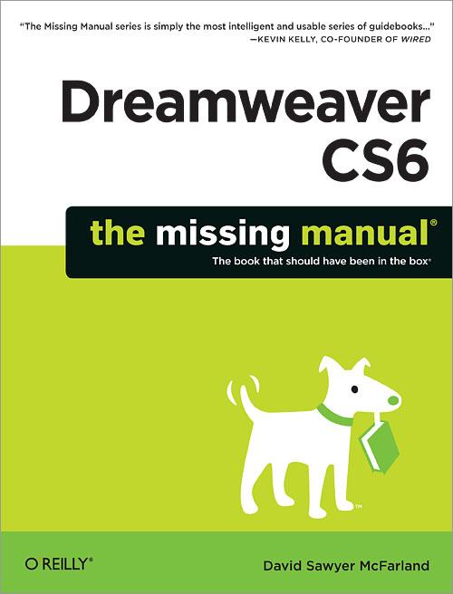 Best books] dreamweaver cs6: the missing manual (missing manuals) ….