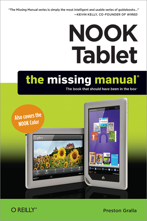 NOOK Tablet: The Missing Manual - O'Reilly Media