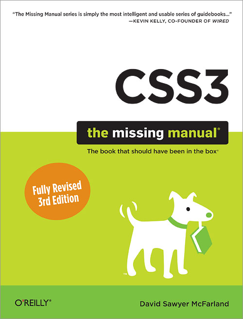 css3 the missing manual pdf