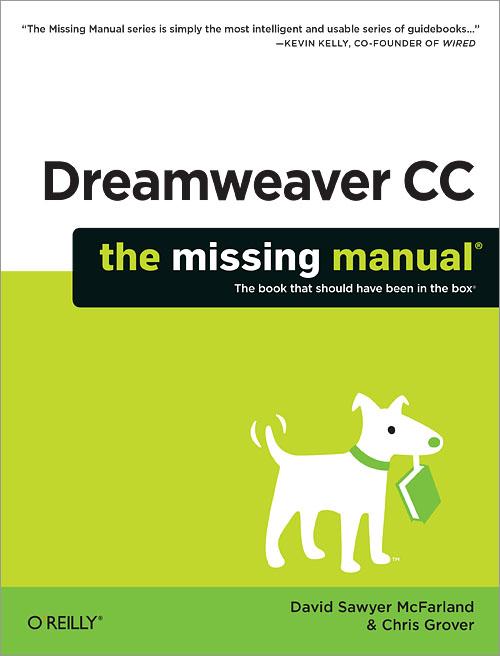 dreamweaver cc the missing manual o reilly media rh shop oreilly com Sony Flash Manual Manual Install Adobe Flash