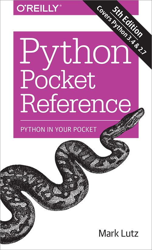 Python Pocket Reference, 5th Edition - O'Reilly Media