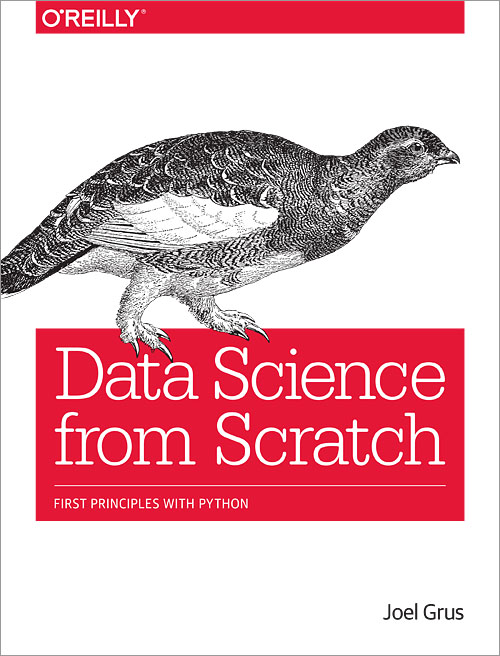Data science from scratch oreilly media books videos fandeluxe Choice Image