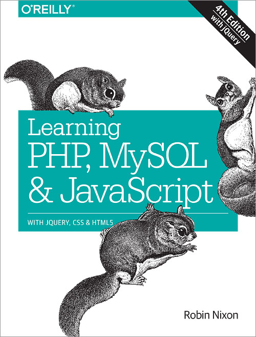 4th learning javascript mysql php pdf and edition