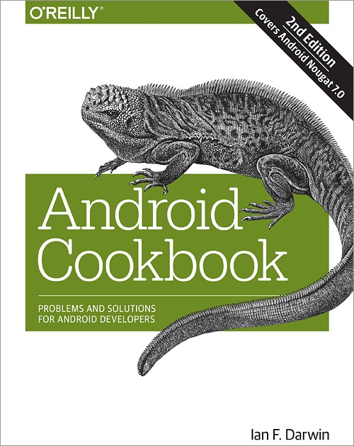 Android Cookbook 2nd Edition O Reilly Media