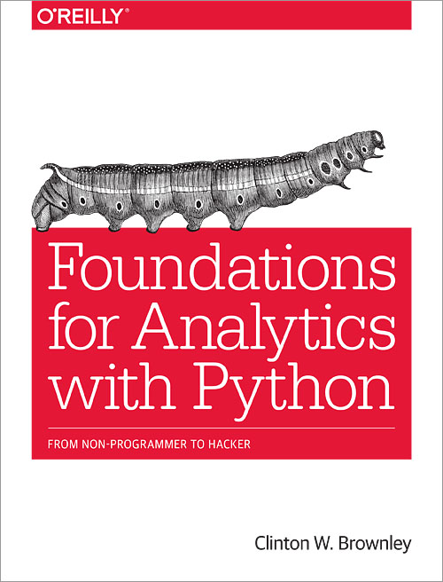 Foundations for Analytics with Python - O'Reilly Media
