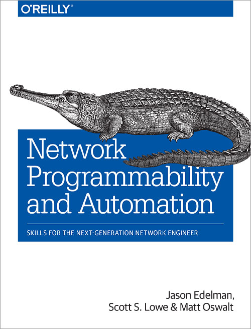 Network Programmability and Automation - O'Reilly Media
