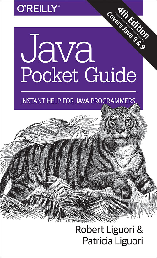 java pocket guide 4th edition o reilly media rh shop oreilly com java pocket guide 4th edition instant help for java programmers java pocket guide instant help for java programmers