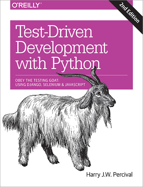 Test-Driven Development with Python, 2e, cover