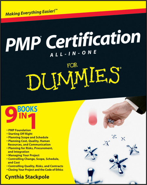 Pmp Certification All In One Desk Reference For Dummies Oreilly Media