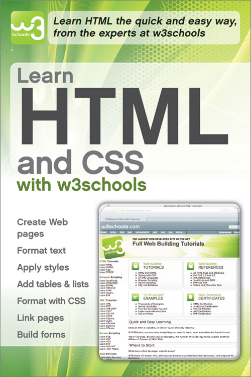 Learn html and css with w3schools oreilly media learn html and css with w3schools stopboris Choice Image
