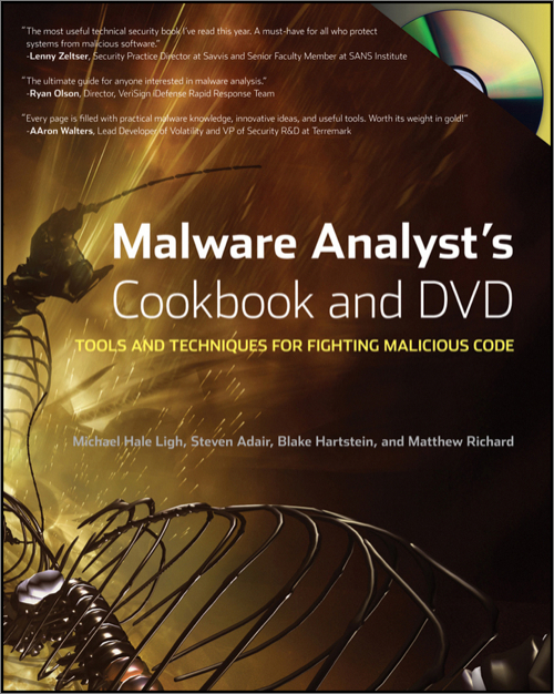 Malware Analyst's Cookbook and DVD - O'Reilly Media
