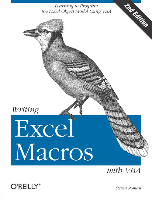 Writing Excel Macros with VBA, 2nd Edition - O'Reilly Media