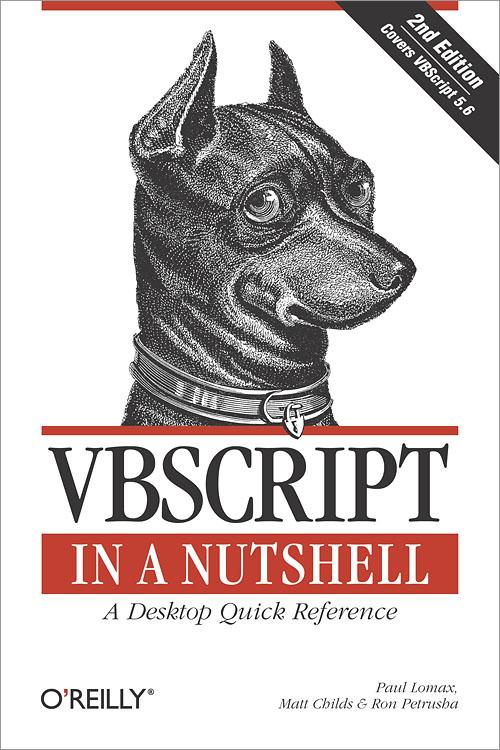 VBScript in a Nutshell, 2nd Edition - O'Reilly Media