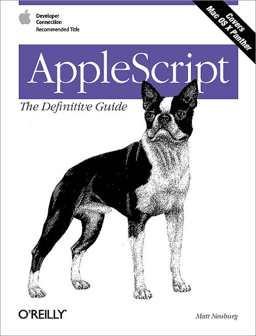 AppleScript: The Definitive Guide - O'Reilly Media