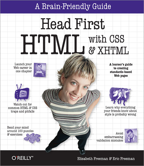 head first html with css & xhtml latest edition