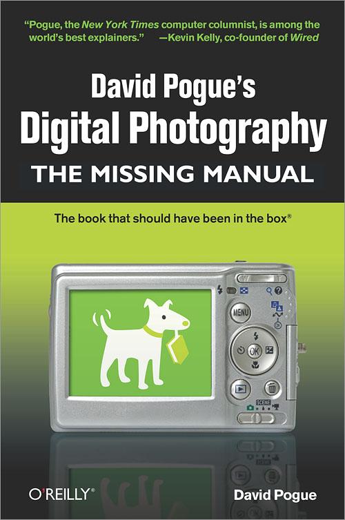 david pogue s digital photography the missing manual o reilly media rh shop oreilly com Manual Mode Photography Manual Photography Tips