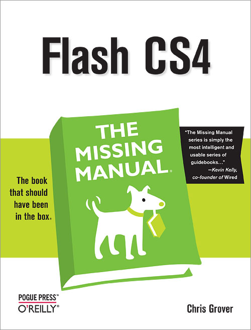 flash cs4 the missing manual 3rd edition o reilly media rh shop oreilly com Flash CS3 Flash CS4 Trial