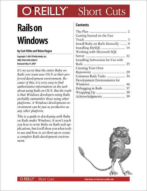 Rails on Windows - O'Reilly Media