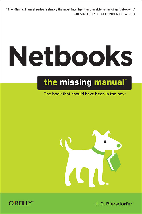 netbooks the missing manual o reilly media rh shop oreilly com The Missing Manual iPad The Missing Manual Series