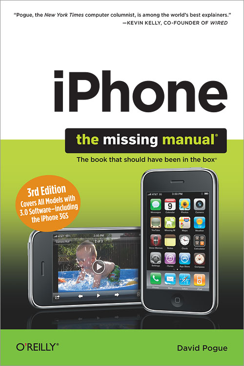 iphone the missing manual 3rd edition o reilly media rh shop oreilly com iPhone 3 iPhone 5