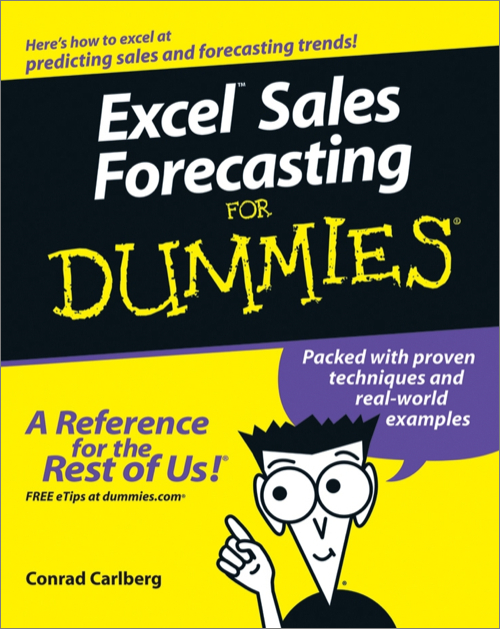 Excel Sales Forecasting For Dummies - O'Reilly Media