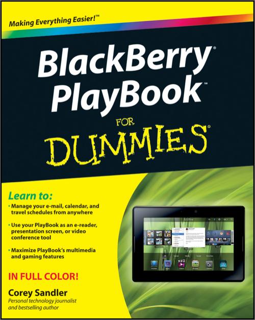 BlackBerry PlayBook For Dummies - O'Reilly Media