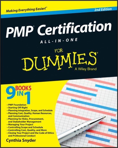 Pmp Certification All In One For Dummies 2nd Edition Oreilly Media