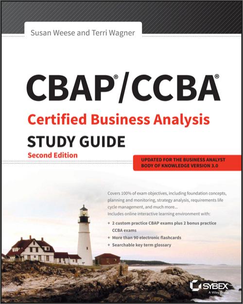 cbap ccba certified business analysis study guide 2nd edition o rh shop oreilly com cbap certification study guide 2nd edition free download cbap certification study guide 2nd edition pdf