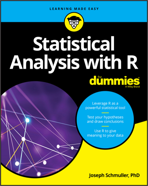 Statistical Analysis With R For Dummies O Reilly Media