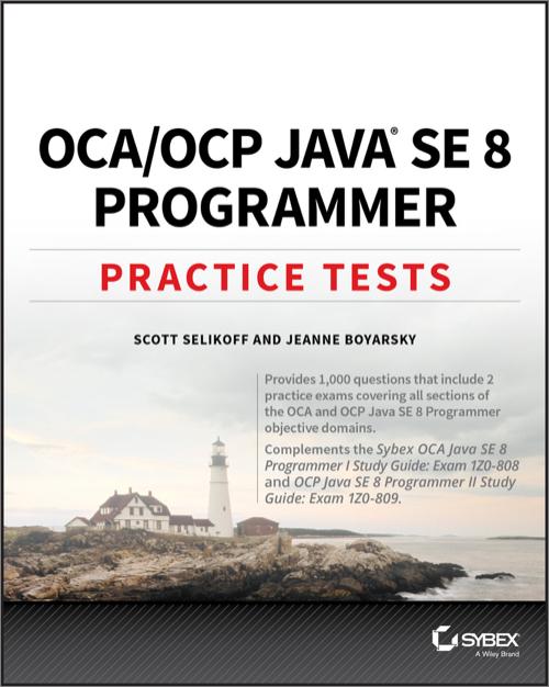 oca ocp practice tests o reilly media rh shop oreilly com Exam Study Guide Brady Michael Morton Exam Study Guide Book