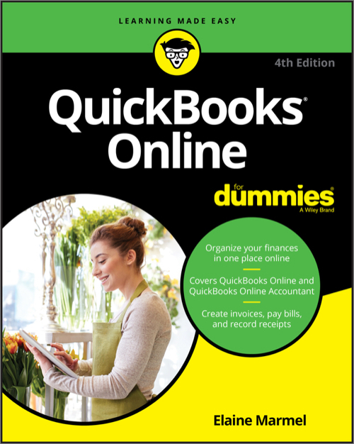 QuickBooks Online For Dummies, 4th Edition - O'Reilly Media