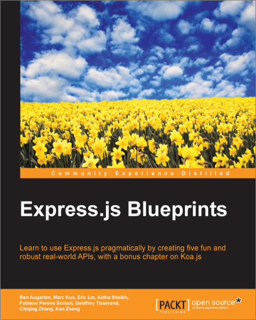 Expressjs blueprints oreilly media expressjs blueprints malvernweather