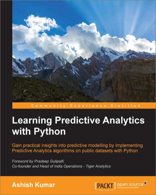 Learning Predictive Analytics with Python - O'Reilly Media