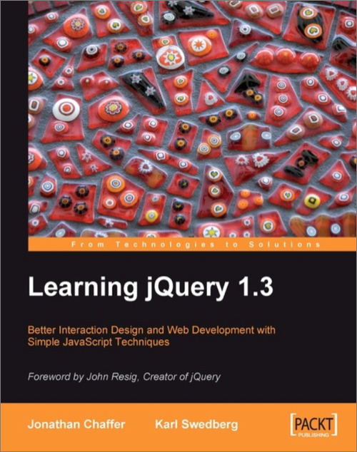 Learning jQuery 1 3 - O'Reilly Media