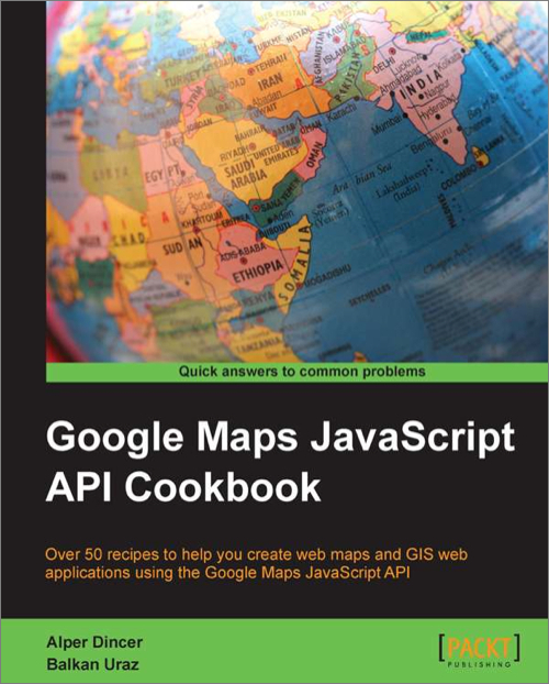 Google Maps JavaScript API Cookbook - O'Reilly Media on google map, world map, code map, linux map, site architecture map, skype map, project management map, logo map, linq map, database map, strategic planning process map, text map, android map, eclipse map, information architecture map, sql map, jquery map, oracle map, xml map,