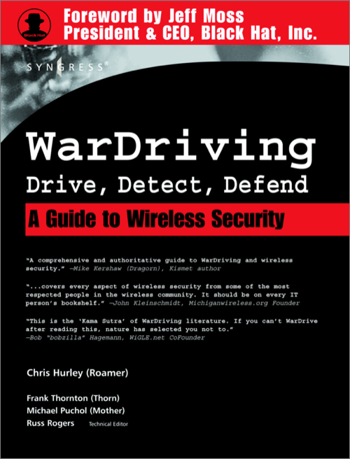 WarDriving: Drive, Detect, Defend - O'Reilly Media